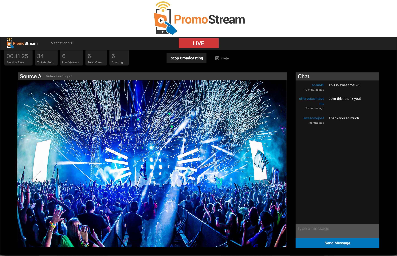 PromoStream-Festival-Action